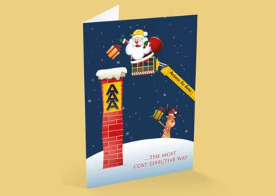 Access An Area Christmas Card