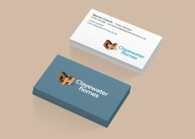 Clayewater Homes Business Card