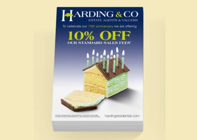 Harding & Co Estate Agent Flyer