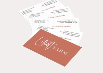 Lilcott Farm Business Cards
