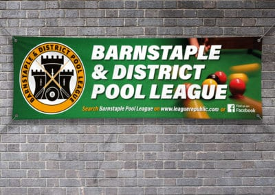 Pool League Banner